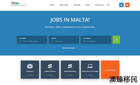 马耳他永居可以工作吗?有哪些行业适合中国人?