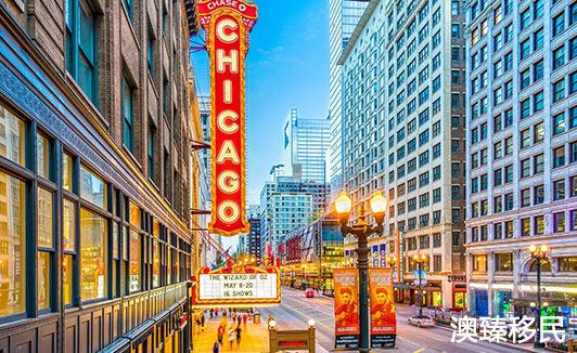 美国2019年最欢迎移民城市排行:芝加哥登榜首1.jpg