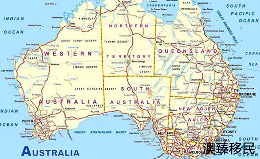 澳大利亚属于哪个州?人口,首都,国旗,时间,面积等问题全解析1.jpg